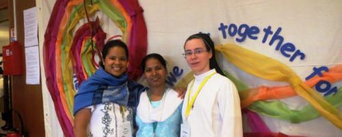 Nuestras experiencias en el capítulo de la congregación como hermanas de votos temporales.