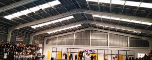 Inauguración de nuevo gimnasio techado del Colegio Santa María Eufrasia