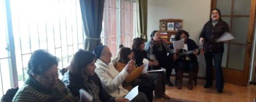 Celebración en la comunidad Valparaíso