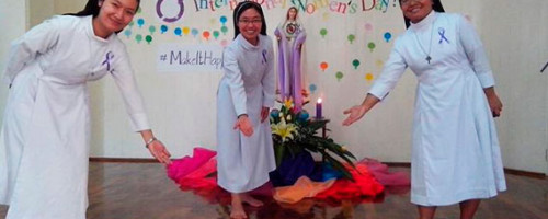 Hermanas del Buen Pastor en Birmania fomentan el empoderamiento de las mujeres.