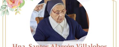 Hna. Santos Alarcón Villalobos fallece en comunidad María del Camino