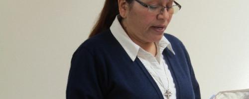 Profesión de Fe, Hna. Guadalupe Lisambarth.
