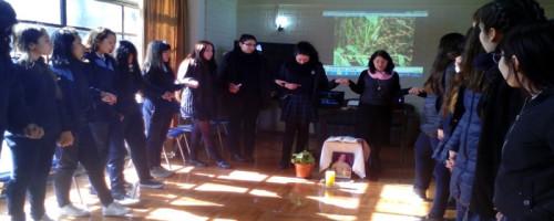 Jornada vocacional en Liceo Polivalente María Reina