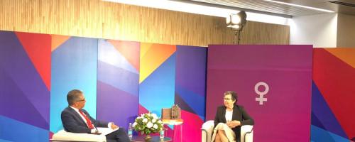 Hna. Nelly León recibe el Premio Trayectoria Mujer 2020