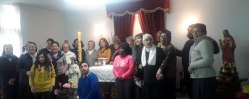 """""""Somos ovejas del Pastor, ¿qué duda hay?"""" Pascua de Santa María Eufrasia."""