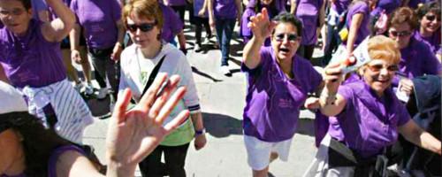 Miles de personas demandan el fin de la violencia contra la mujer