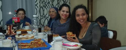 Actividades pastorales mes del mes de mayo de la Fundación Madre Josefa en Talca