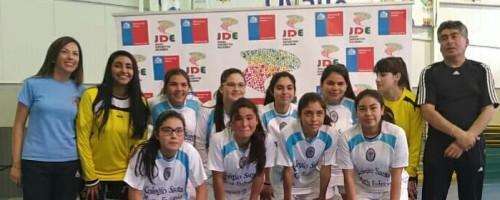Colegio Santa María Eufrasía gana regional de Fútsal