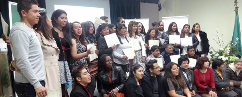"""Certificación a participantes del proyecto """"Talitacum""""."""