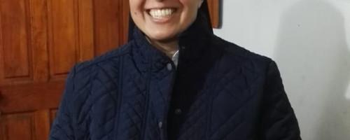 Hermana Flora Pavez viaja a Cuba a misión.