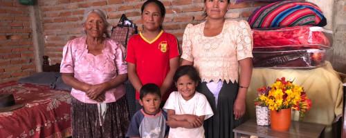 Visita del departamento de finanzas de Chalice a la regional en Sucre.