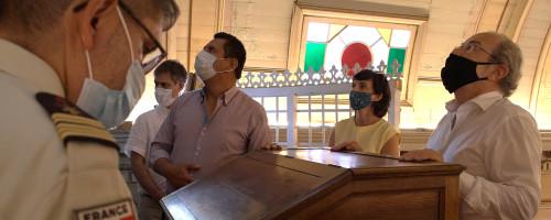 Embajador de Francia en Chile visita el Conjunto Patrimonial Buen Pastor San Felipe