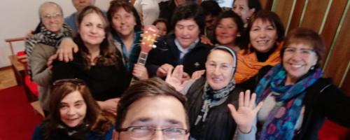 Signos de la presencia del Buen Pastor en Valparaíso.