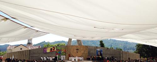 Peregrinación al Santuario de lo Vásquez.