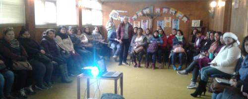 Taller de espiritualidad en colegios de Chile.