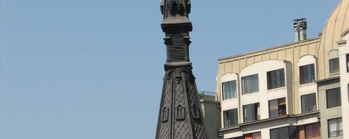 Restauración y consolidación del campanario de la Iglesia de San Pedro de Alcántara.