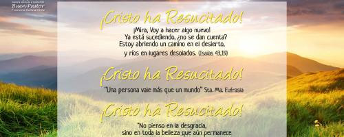 Mensaje de Resurrección Animadora Provincial