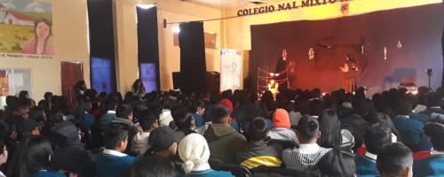 Teatro contra trata y tráfico de personas