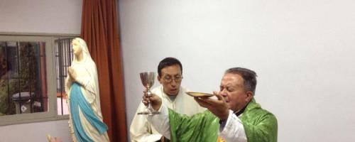 Celebración de la Novena y Solemnidad de Nuestra Señora de Lourdes.