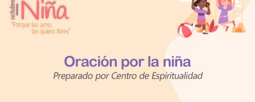 Invitación a orar por la niña este 27 de septiembre