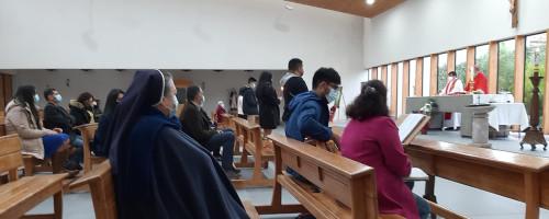 Colegio Santa Eufrasia celebra el sacramento de la Confirmación