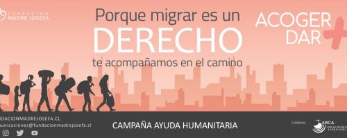 """Campaña de ayuda a herman@s migrantes del norte: """"ACOGER+ = DAR+"""""""