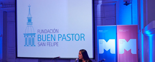 Fundación Buen Pastor expone en seminario gubernamental.