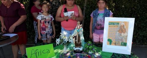 Celebrando el mes de María con esperanza en Concepción