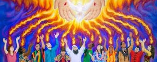 Ha llegado el Espíritu de Dios.