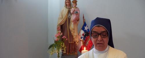 Hermana Angélica Camus Santos renueva sus Votos Perpetuos