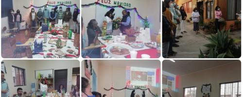 Alegría del encuentro navideño del equipo en la misión La Serena