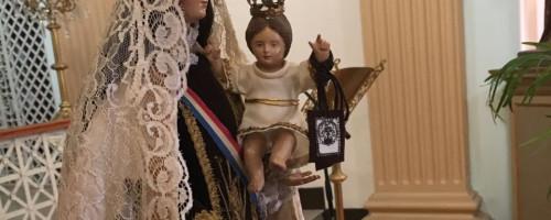 Virgen del Carmen peregrina por la ruta de la independencia.