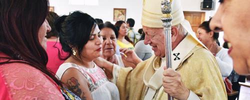Internas de la cárcel de mujeres celebraron misa en vísperas de Navidad junto al cardenal Ezzati