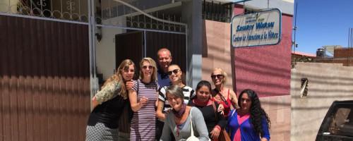 """""""Fue una visita muy enriquecedora, es muy claro que la Fundación les cambió la vida"""""""